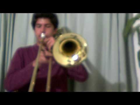 TITANIC  interpretado en el trombón