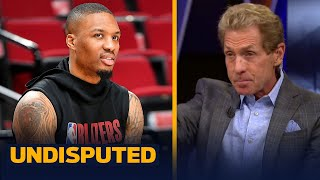 Skip responds to Damian Lillard's tweet and shares what happened between them | NBA | UNDISPUTED