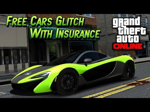 GTA 5 Glitches - Get Free Super Cars Cars - Insurance Glitch In GTA 5 Online (GTA 5 Glitches)