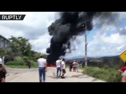 Border chaos: Venezuelan migrants attacked, forced to flee back from Brazil