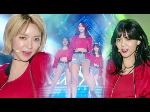 《BOF》 AOA - Good Luck @인기가요 Inkigayo 20161030