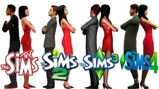 ♦ Sims 1 vs Sims 2 vs Sims 3 vs Sims 4: Cheating & Break-Ups