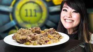 COOKING FALLOUT 4 DISHES! (Radstag Stew and Deezer's Lemonade)