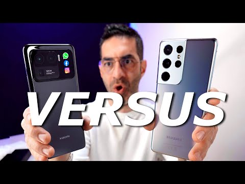 Xiaomi Mi 11 ULTRA VS Samsung Galaxy S21 …