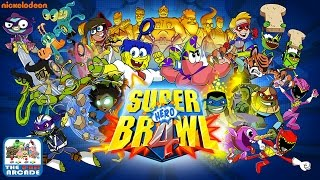 Super Brawl 4 - All Characters Unlocked, Free Play (Gameplay, Playthrough)