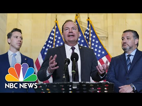 Republicans Announce Antitrust Legislation After MLB Moves All-Star Game | NBC News NOW