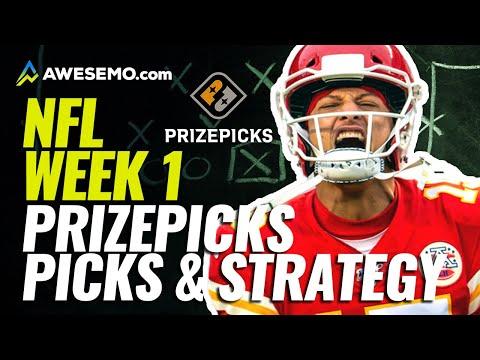 PrizePicks Week 1 NFL DFS Lineups, Strategy, & Picks
