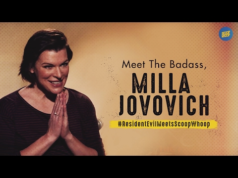 ScoopWhoop: Milla Jovovich in conversation with ScoopWhoop.