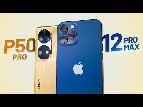 So sánh Huawei P50 Pro và iPhone 12 Pro Max: Top 1 DxOMark vẫn thua iPhone?