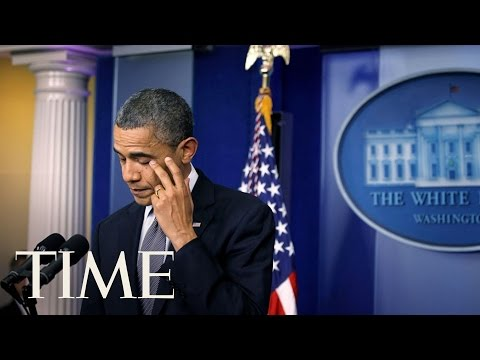 10 Days That Define the Obama Presidency: Sandy Hook   TIME
