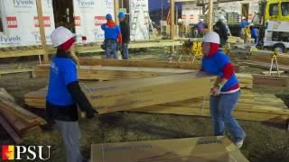 'Pittsburg State University volunteers time and energy to help in Joplin!