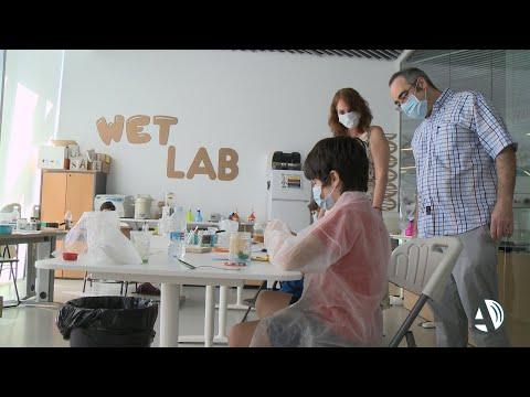 280 niños fusionan la ciencia con la diversión en las colonias de Etopia Kids