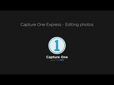 Capture One Express | Editing images
