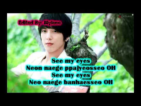 Jung Yong Hwa - You've Fallen For Me (Heartstrings OST) Lyrics