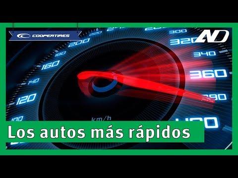 ¡Los 5 coches más rápidos del mundo! - AprendeDinámico con Cooper Tires