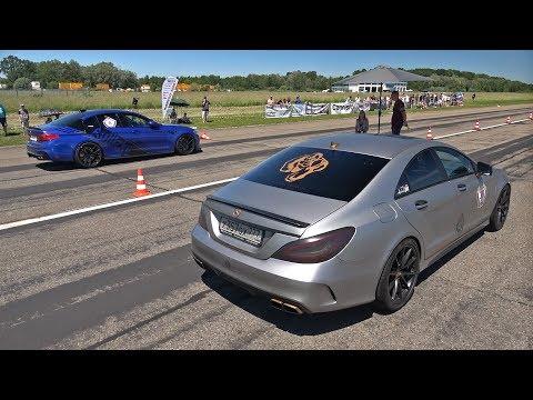 990HP Mercedes-Benz CLS63 AMG Gorilla Performance vs 830HP BMW M5 F90