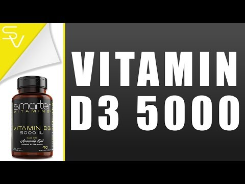video Smarter Vitamin D3 5000IU 90 Mini Softgels