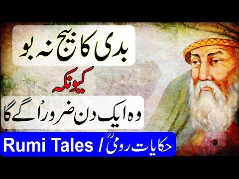 Hikayat Jalaluddin Roomi / Never Plant The Seed Of Evil / Rumi Tales / मौलाना रूमी / Urdu - Hindi