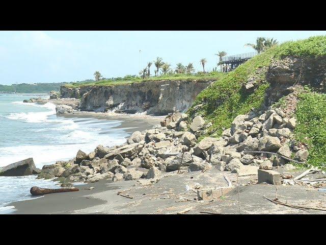 旗津海岸線傳侵蝕崩塌10多公尺