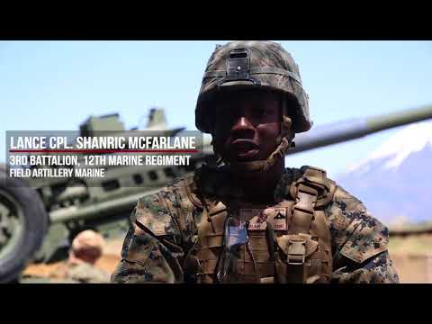 DFN:3rd Battalion, 12th Marine Regiment Fires Artillery Rounds During ARTP 18-1, JAPAN, 05.12.2018