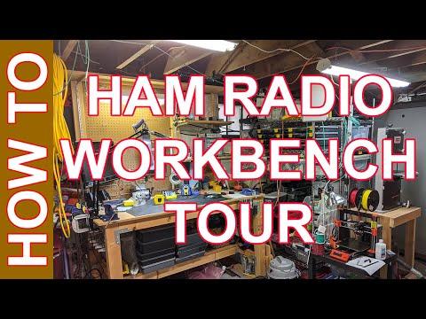 Ham Radio Workbench - My Workbench Setup 2020