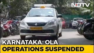 "Ola Cabs Banned In Karnataka For 6 Months, Calls Order ""Unfortunate"""