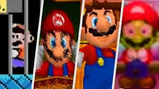 Evolution of Mario getting rescued in Super Mario Games (1992 - 2018)