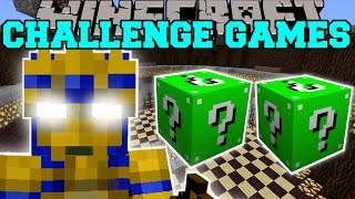 Minecraft: EGYPTIAN PHARAOH CHALLENGE GAMES - Lucky Block Mod - Modded Mini-Game