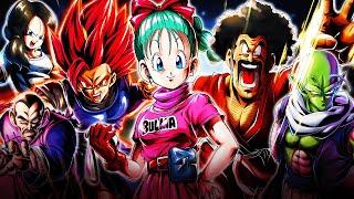 (Dragon Ball Legends) ABSOLUTELY TOXIC HERO TEAM & 1000 DAY BULMA DOMINATES HILARIOUSLY!