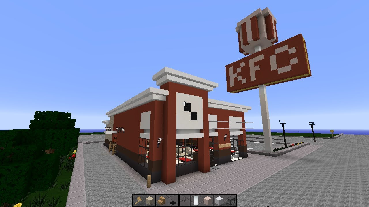 Minecraft How To Build A Fast Food Restaurant