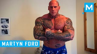 Martyn Ford Training for Undisputed IV:Boyka   Muscle Madness