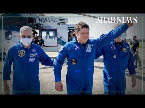 NASA astronauts speak after historic SpaceX return