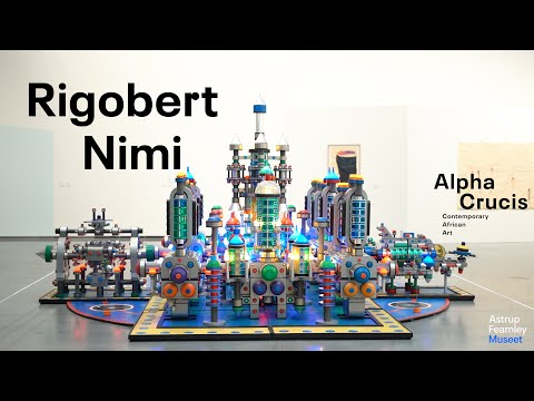 "Interview with Rigobert Nimi   ""Alpha Crucis – Contemporary African Art"""