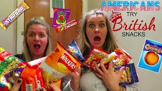 Americans Try British Snacks