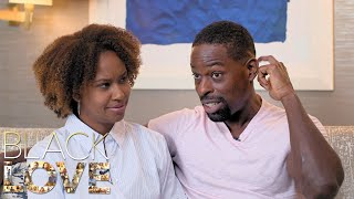 Sterling K. Brown and Ryan Michelle Bathe Remember Their First Kiss Differently | Black Love | OWN