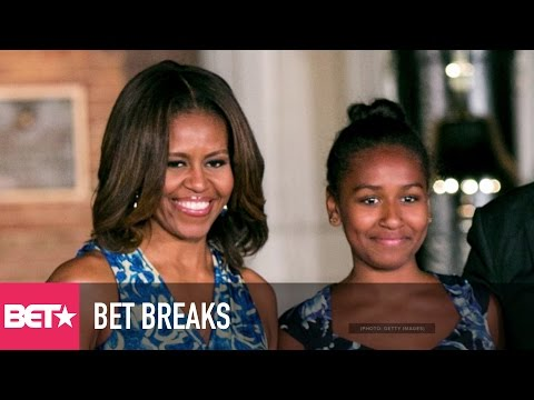 Michelle Obama Explains Sasha's Absence - BET Breaks