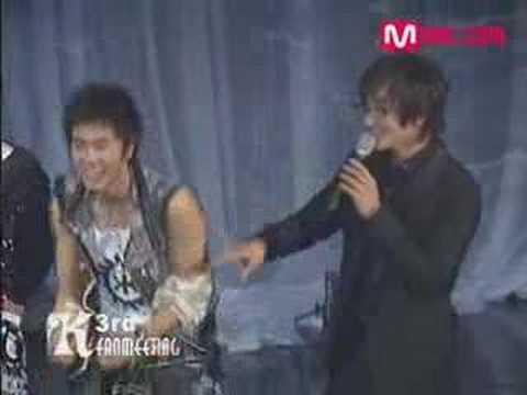 TVXQ in KangTa Fanmeeting
