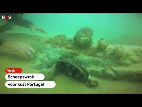 WRAK: Eeuwenoud scheepswrak ontdekt bij Portugal