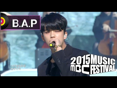 [2015 MBC Music festival] 2015 MBC 가요대제전 - B.A.P - Warrior + Young, Wild & Free 20151231