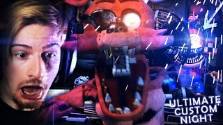 THE ANIMATRONICS ARE BACK. (This is AMAZING) || FNAF: Ultimate Custom Night (Part 1)