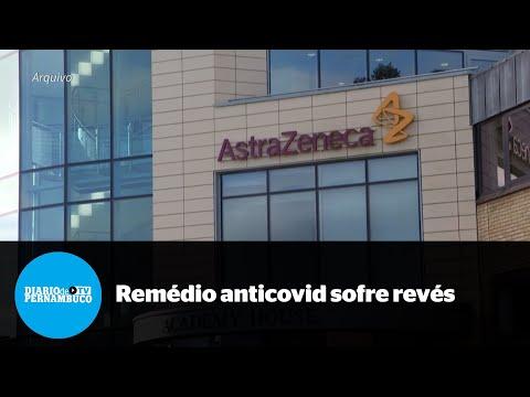 Tratamento com remédios anticovid da AstraZeneca não tem resultados positivos