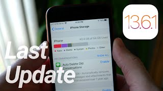 iOS 13.6.1 Released! System Storage & 'Green Tint' Fixes