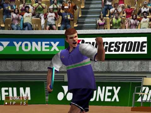 Virtua Tennis (Arcade Mode: Rolf Euler) (Hitmaker, Strangelite) (Windows) [2002] PC Longplay