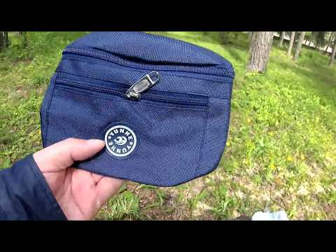 Вместительная и удобная поясная сумка из Китая photo