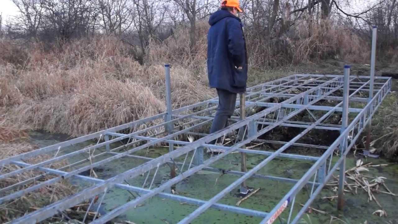 Diy Atv Creek Bridge Youtube