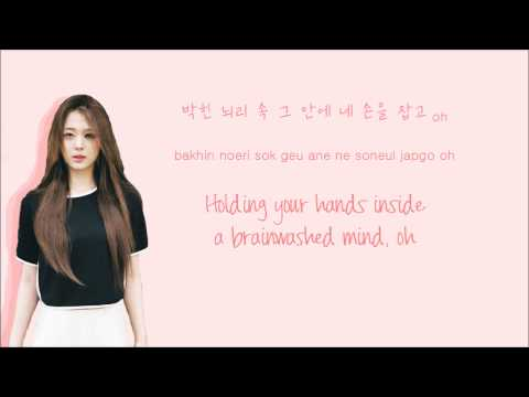 f(x) - Butterfly (나비) (Color Coded Hangul/Rom/Eng Lyrics)