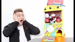 I Bought A Pokemon Vending Machine!!!!