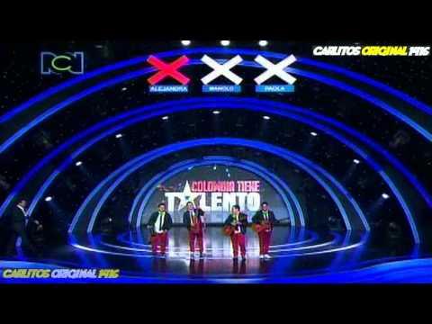 Colombia Tiene Talento - LOS HERMANOS MEDINA - 6 Gran Gala - 20 de Marzo de 2012.
