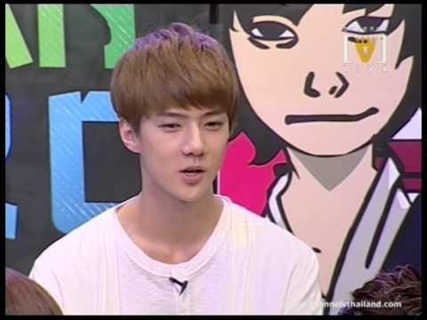 เทปพิเศษ 6 หนุ่ม EXO-K ในรายการ Asian Hero 2/4