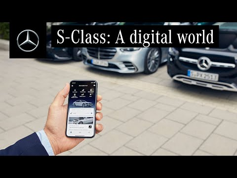The New S-Class and the Mercedes me App